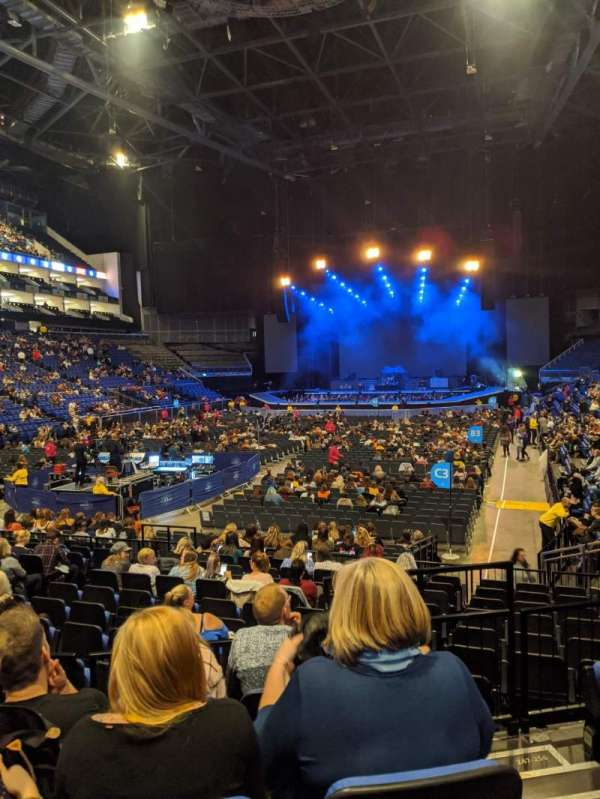 The O2 Arena, section: 108, row: M, seat: 233