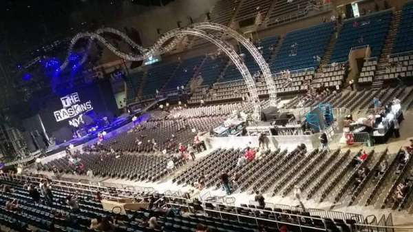 Mississippi Coast Coliseum, section: DD, row: 1, seat: 12