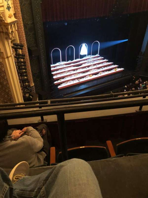 Mainstage at the New York City Center, section: Balc, row: B, seat: 118