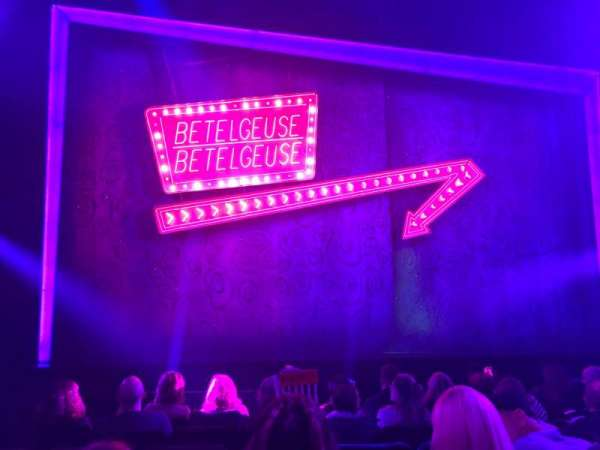 Winter Garden Theatre, section: Orchestra C, row: G, seat: 114