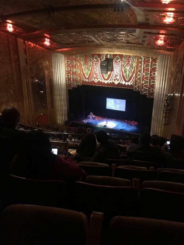 Paramount Theater (Oakland), section: BALC REAR, row: W, seat: 30