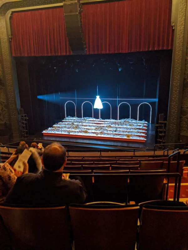 Mainstage at the New York City Center, section: mezzanine c, row: c, seat: 124