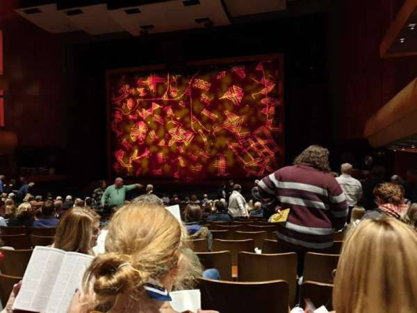 DeVos Performance Hall, section: Orchestra, row: R, seat: 10