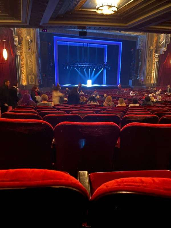Hollywood Pantages Theatre, section: Orchestra L, row: UU, seat: 314