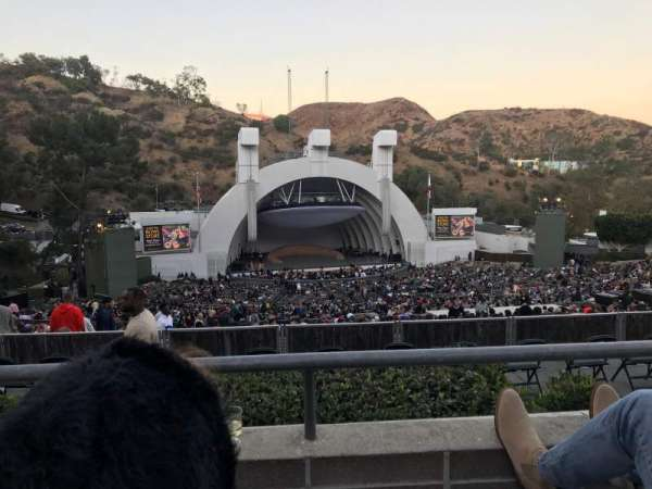 Hollywood Bowl, section: N3, row: 2, seat: 11