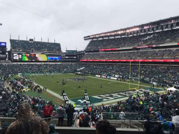 Lincoln Financial Field, section: 108, row: 43, seat: 16