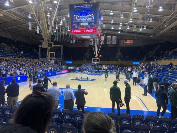 Cameron Indoor Stadium, section: 20, row: 5, seat: GA