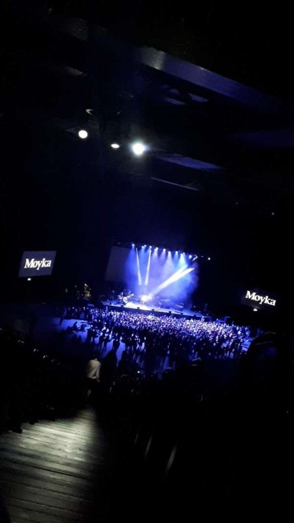 3Arena, section: J, row: 53, seat: 87