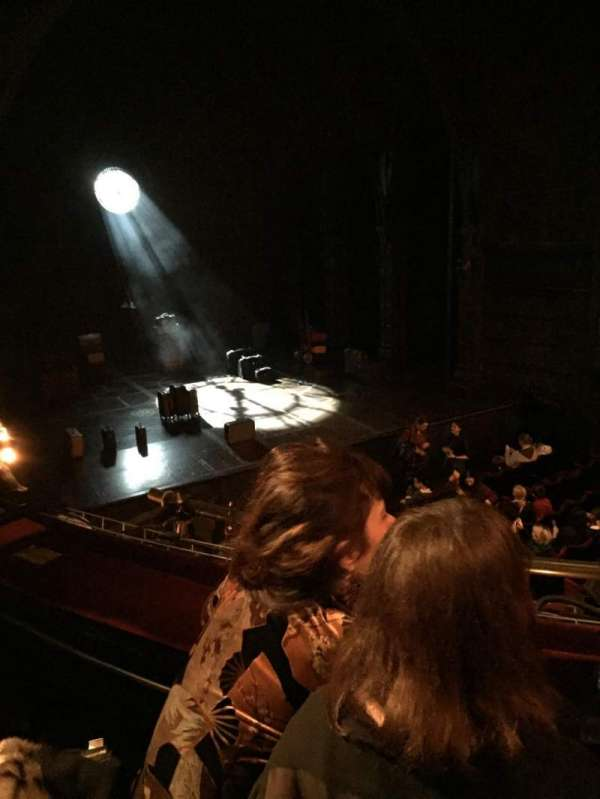 Palace Theatre (West End), section: Dress circle, row: B, seat: 31