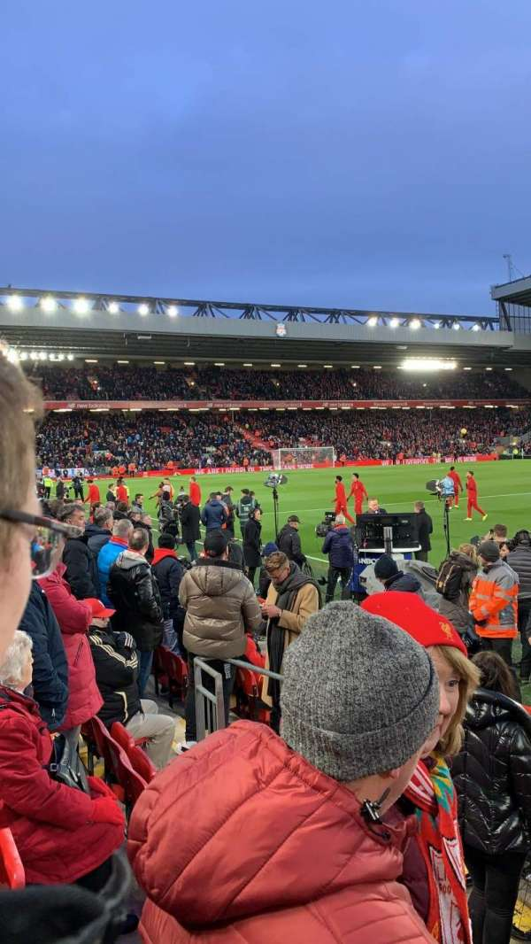 Anfield, section: L7, row: 3
