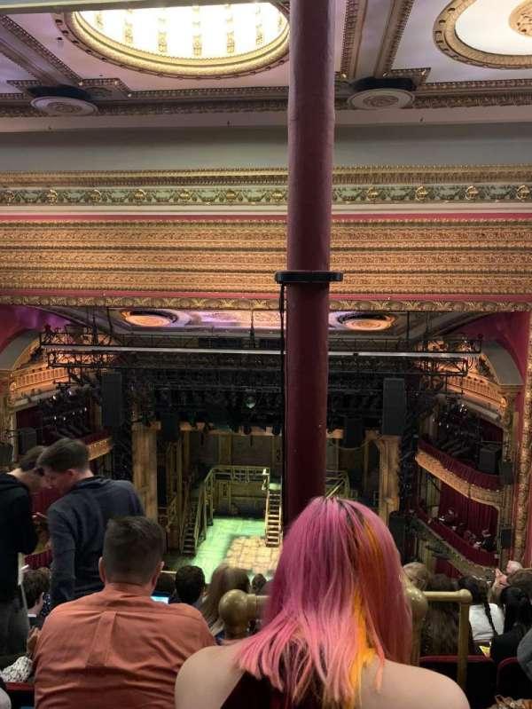 CIBC Theatre, section: Balcony RC, row: K, seat: 408