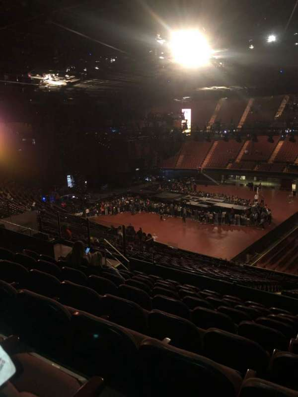 The Forum, section: 228, row: 9, seat: 11