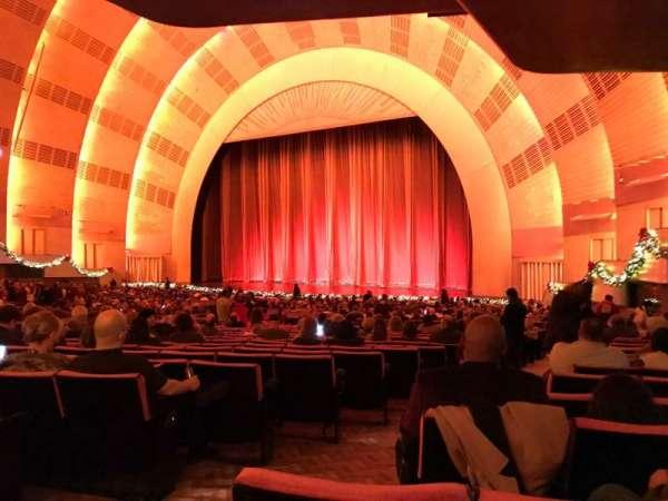 Radio City Music Hall, section: Orchestra 1, row: P, seat: 108