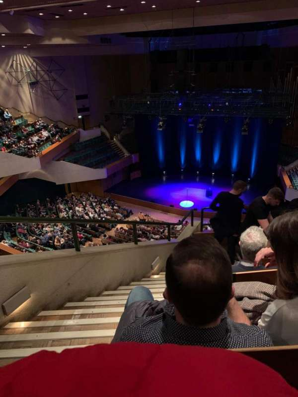St David's Hall, section: Tier 10, row: F, seat: F14