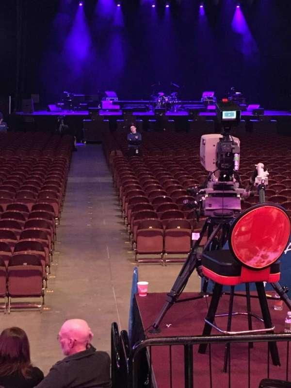 Mohegan Sun Arena, section: 21, row: G, seat: 1