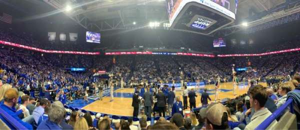 Rupp Arena, section: 32, row: FL, seat: 9