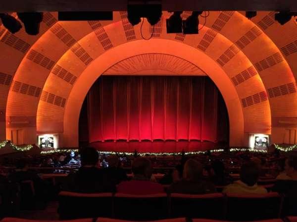 Radio City Music Hall, section: 1st Mezzanine 4, row: G, seat: 412