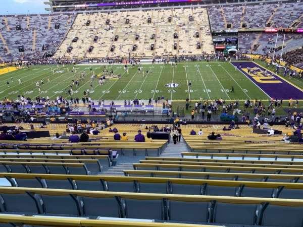 Tiger Stadium, section: 101, row: 52, seat: 15