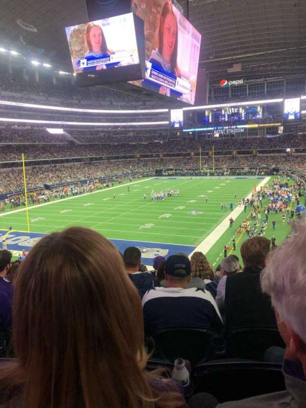 AT&T Stadium, section: 244, row: 8, seat: 11
