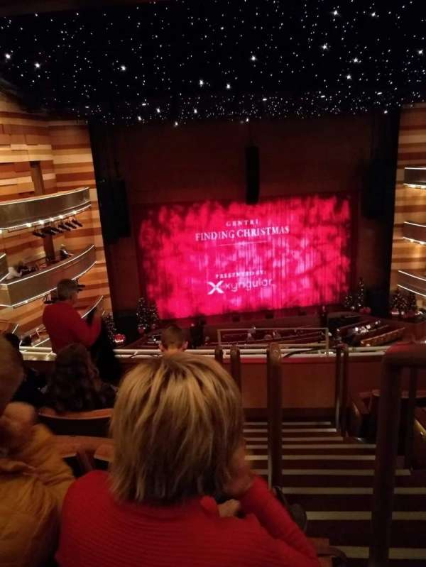 Eccles Theater, section: 2TL, row: D, seat: 102