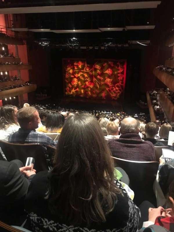 DeVos Performance Hall, section: Mezzanine, row: P, seat: 8