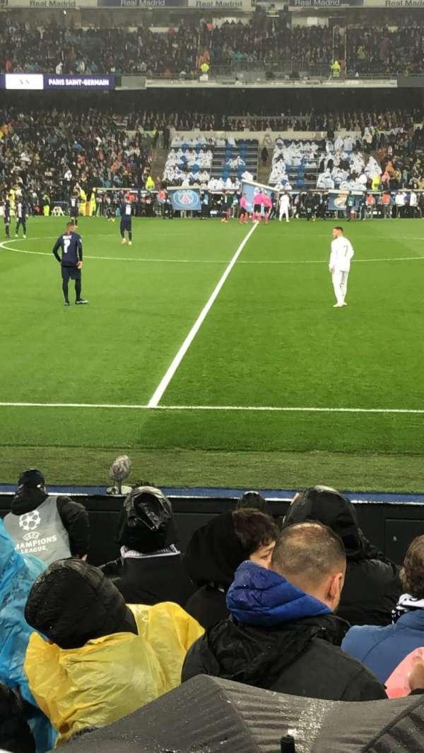 Santiago Bernabéu Stadium, section: 102, row: 7, seat: 02