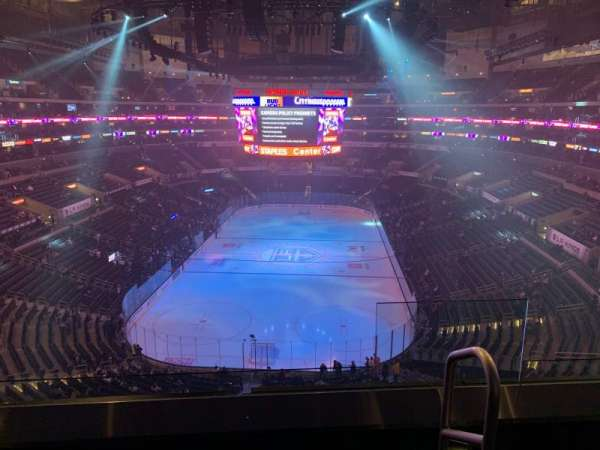 Staples Center, section: 326, row: 3