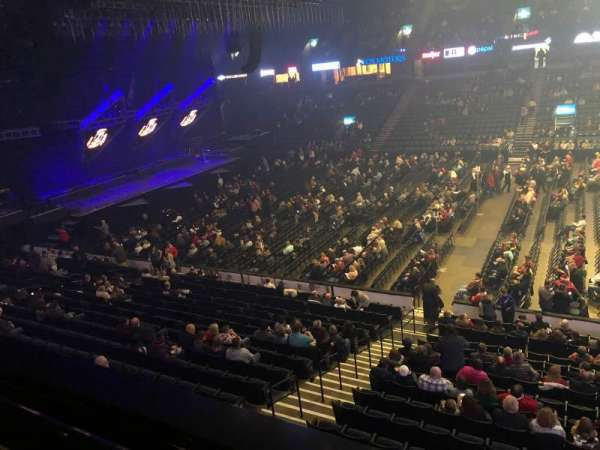 Van Andel Arena, section: 207, row: A, seat: 8