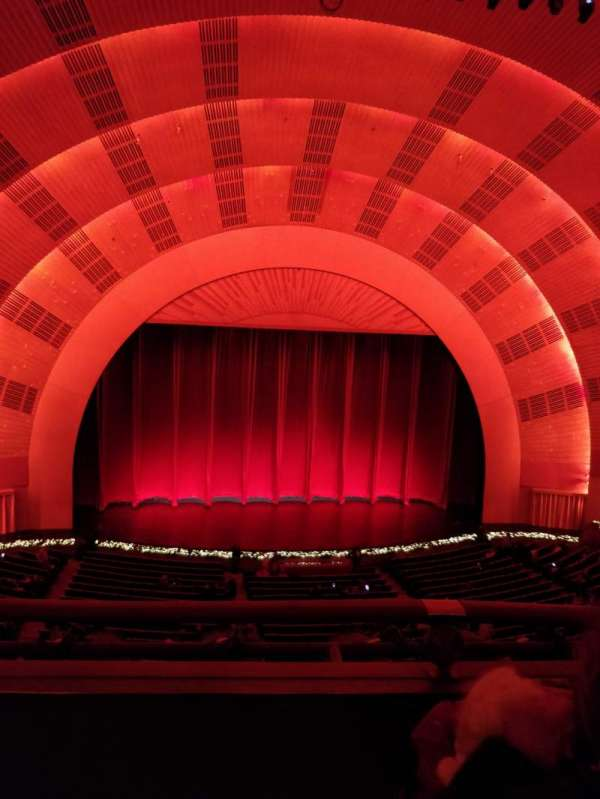 Radio City Music Hall, section: 1st Mezzanine 5, row: B, seat: 505