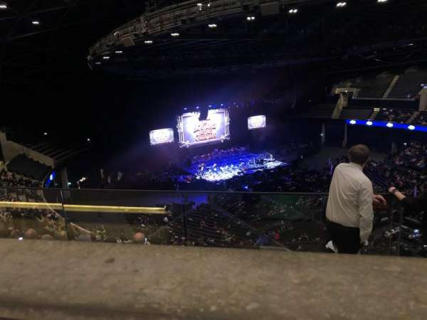 The SSE Hydro, section: 326, row: Y, seat: 91