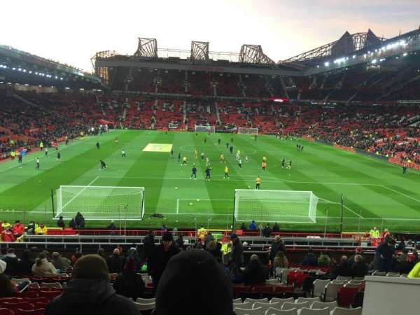 Old Trafford, section: E235, row: 22, seat: 122