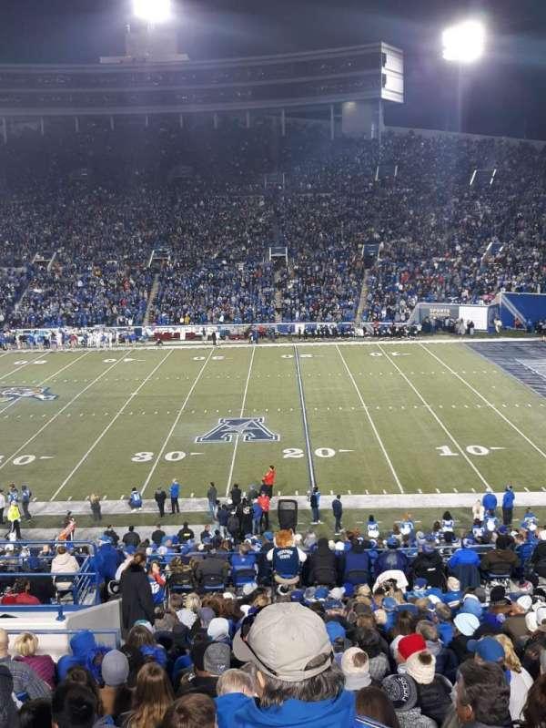 Liberty Bowl Memorial Stadium, section: 102, row: 45, seat: 19