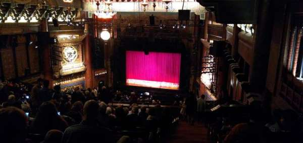 5th Avenue Theatre, section: Upper Mezzanine R, row: Y, seat: 202