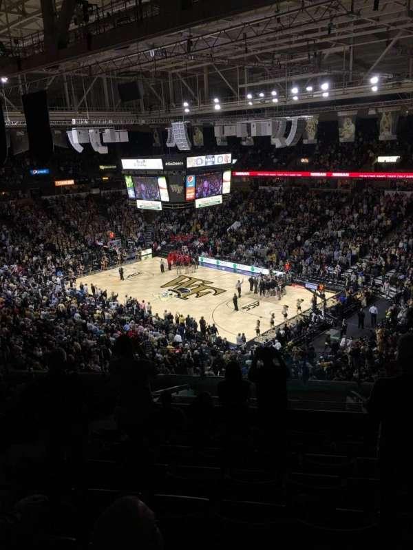 Lawrence Joel Veterans Memorial Coliseum, section: 226, row: P, seat: 8
