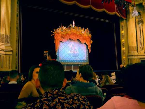 Citizens Bank Opera House, section: Orchestra LC, row: J, seat: 17
