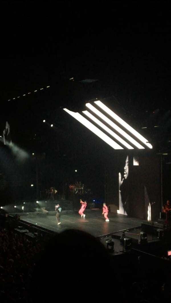 Ziggo Dome, section: 102, row: 8, seat: 54