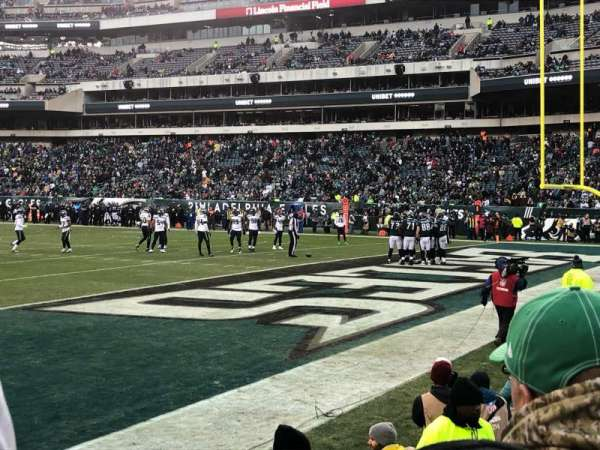 Lincoln Financial Field, section: 126, row: 2, seat: 4