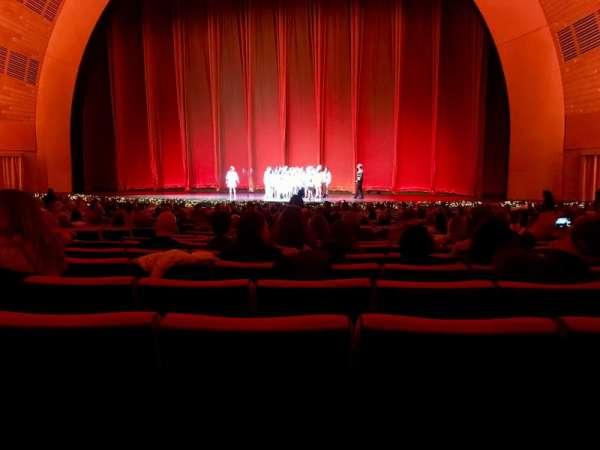 Radio City Music Hall, section: 3, row: AA, seat: 8