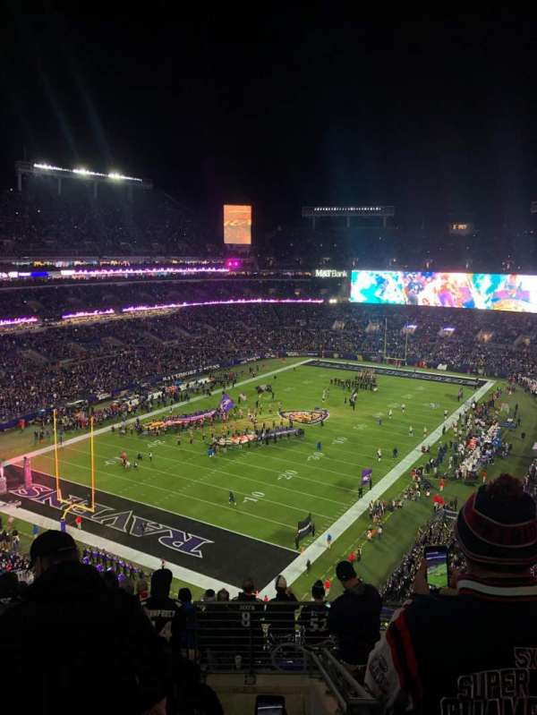 M&T Bank Stadium, section: 509, row: 11, seat: 4