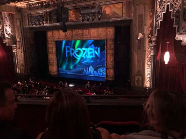 Hollywood Pantages Theatre, section: Mezzanine R, row: C, seat: 6