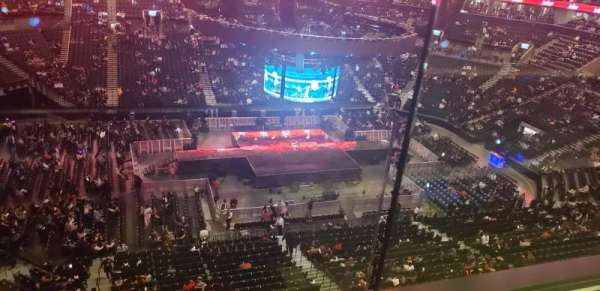 Barclays Center, section: 226, row: 1, seat: 1