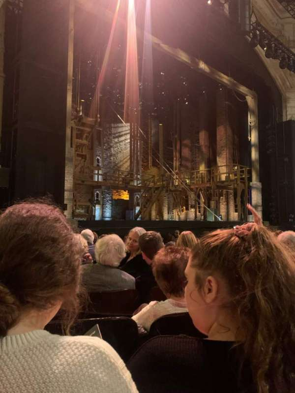 Orpheum Theatre (San Francisco), section: Orchestra L, row: K, seat: 9