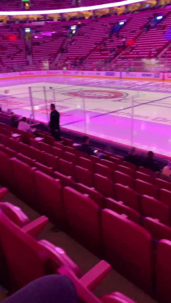 Centre Bell, section: 123, row: C, seat: 1