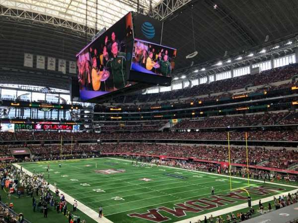 AT&T Stadium, section: 227, row: 5, seat: 2