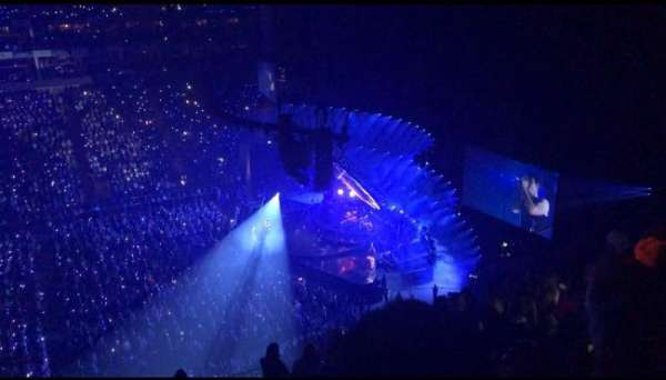 The O2 Arena, section: 420, row: L, seat: 927