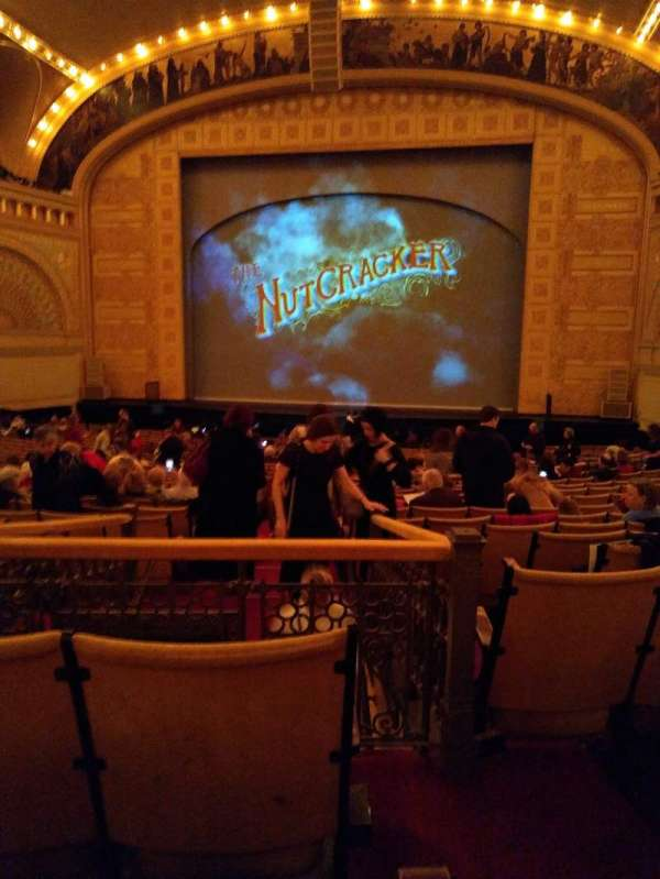 Auditorium Theatre, section: Dress circle right, row: CC, seat: 201