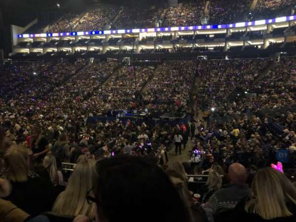 The O2 Arena, section: 103, row: N, seat: 114