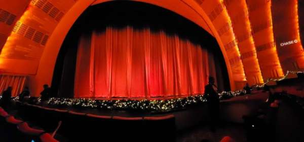 Radio City Music Hall, section: Orchestra 5, row: CC, seat: 502