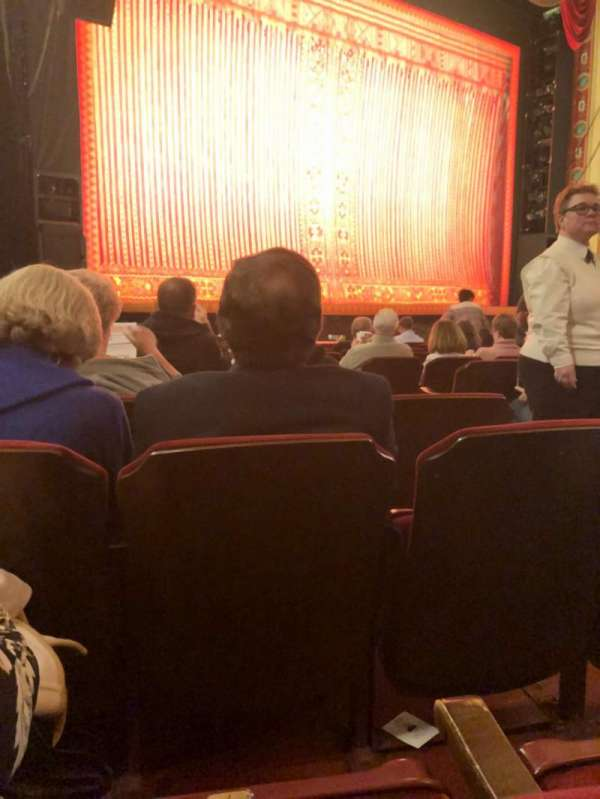 Providence Performing Arts Center, section: Orchestra Left, row: N, seat: 11
