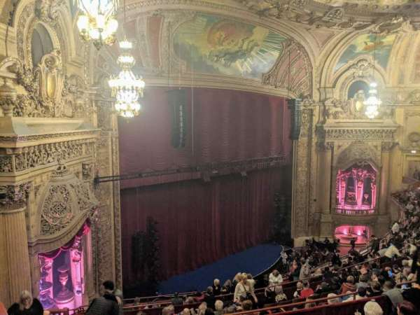 Chicago Theatre, section: Balcony Box 6, seat: 47and49